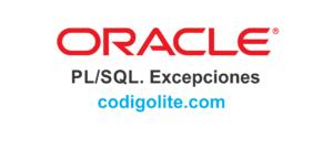 Excepciones en Oracle / PLSQL