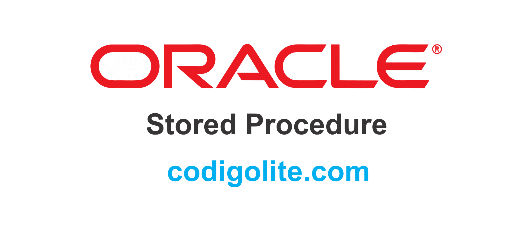 Cómo crear, ejecutar y eliminar un procedimiento almacenado en Oracle