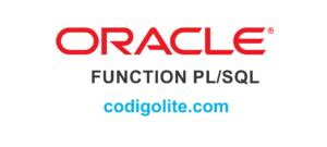 Crear, Ejecutar y eliminar una función en Oracle