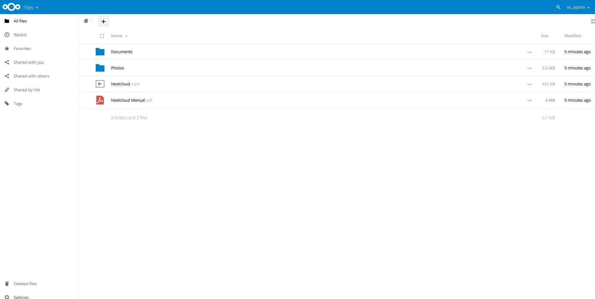 Instalar NextCloud 11 en Centos 7